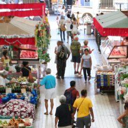 marché centrale de papeete